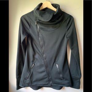 C9 Champion Tech Fleece Asymmetrical Black Jacket